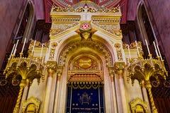 Synagoge in Budapest Stockfoto