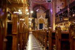 Synagoge in Budapest Lizenzfreies Stockfoto