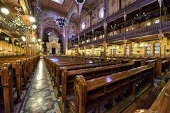 Synagoge in Budapest Stockbilder