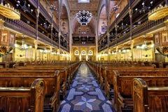 Synagoge in Budapest Stockbild