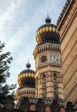 Synagoge Budapest stockfotos