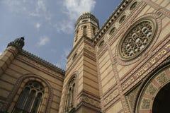 Synagoge in Budapest, Ungarn Stockbilder