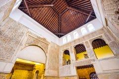 Synagoge Cordobas Spanien lizenzfreie stockbilder