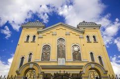 Synagoge in Edirne lizenzfreie stockfotografie