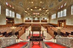 Synagoge in Enschede Stockfotografie