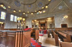 Synagoge in Enschede stockbild
