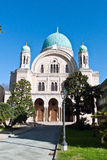 Synagoge in Florence Stock Afbeeldingen
