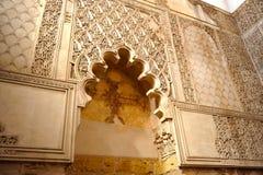 Synagoge in het Joodse Kwart van Cordoba, Spanje Royalty-vrije Stock Fotografie