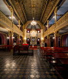Synagoge in Krakau stock foto