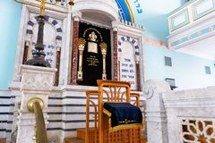 Synagoge in Riga Lizenzfreies Stockbild