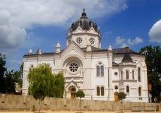 Synagoge, Szolnok, Hongarije Royalty-vrije Stock Fotografie