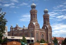 Synagoge, Szombathely, Hongarije stock fotografie