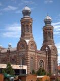 Synagoge, Szombathely, Hongarije stock afbeelding