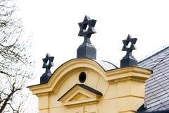 Synagoge, Trebic lizenzfreie stockbilder