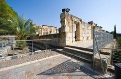 Synagoge van Capernaum Royalty-vrije Stock Afbeeldingen
