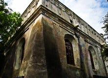 Synagoge in Zhovkva, de Oekraïne Royalty-vrije Stock Fotografie