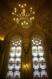 Synagogebinnenland Stock Afbeelding
