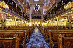 synagogi z budapesztu Obraz Stock