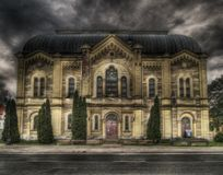 Synagogue. It's a museum now, not a synagogue royalty free stock image