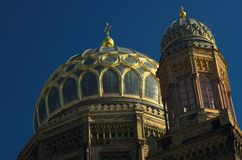 Synagogue Berlin de Neue Photographie stock libre de droits