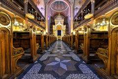 Synagogue in Budapest Stock Images