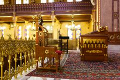 Synagogue in Budapest Royalty Free Stock Photos