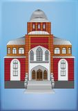 SYNAGOGUE. Building for worship to God and prayer Royalty Free Stock Image