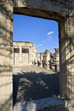 Synagogue Capernaum Royalty Free Stock Image
