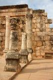 Synagogue of Capharnaum - Israel Royalty Free Stock Image