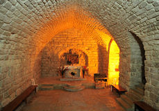 Synagogue church. The synagogue church in Nazareth old city, Israel Stock Images