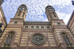 Synagogue d'utca de Dohany Photo libre de droits