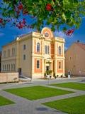 Synagogue dans la ville de Krizevci Photos libres de droits