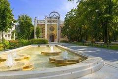 Synagogue dans Szekszard images libres de droits