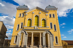 Synagogue in Erdine Royalty Free Stock Images