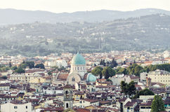 Synagogue in Florence, Italy stock image