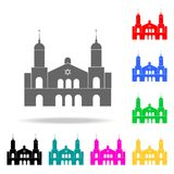Synagogue icon. Elements of religion multi colored icons. Premium quality graphic design icon. Simple icon for websites, web desig. N, mobile app, info graphics vector illustration