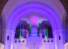 Synagogue inside Stock Photography