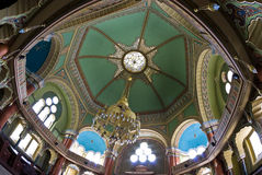 Synagogue Interior. The interior of the biggest Synagogue in the Balkans - Sofia, Bulgaria Royalty Free Stock Images