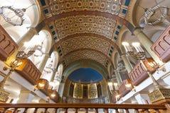 Synagogue interior Royalty Free Stock Image