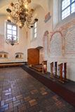 Synagogue interior Royalty Free Stock Photography