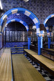 Synagogue Interior - Djerba Ghriba, Jewish Faith, Travel Tunisia Stock Photo