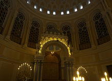 Synagogue interior Royalty Free Stock Image