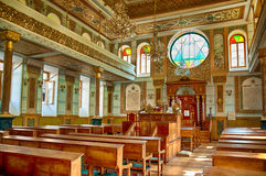 Synagogue interior Royalty Free Stock Photos