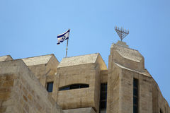 Jerusalem Synagogue Stock Image