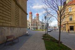 Synagogue juive Image libre de droits