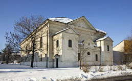 Synagogue in Liptovsky Mikulas. Slovakia.  royalty free stock images