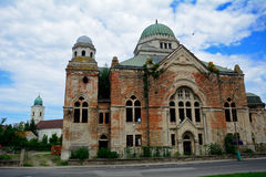 Synagogue, Lucenec, Slovaquie images libres de droits