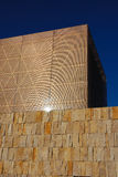 Synagogue in Munich. Opened in Oct. 2006. Reflection of sun in facade Stock Image