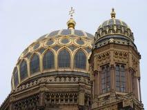 synagogue neuve de Berlin Photographie stock