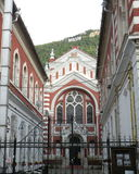 Synagogue in the old town Brasov (Kronstadt), in Transilvania. Stock Photo